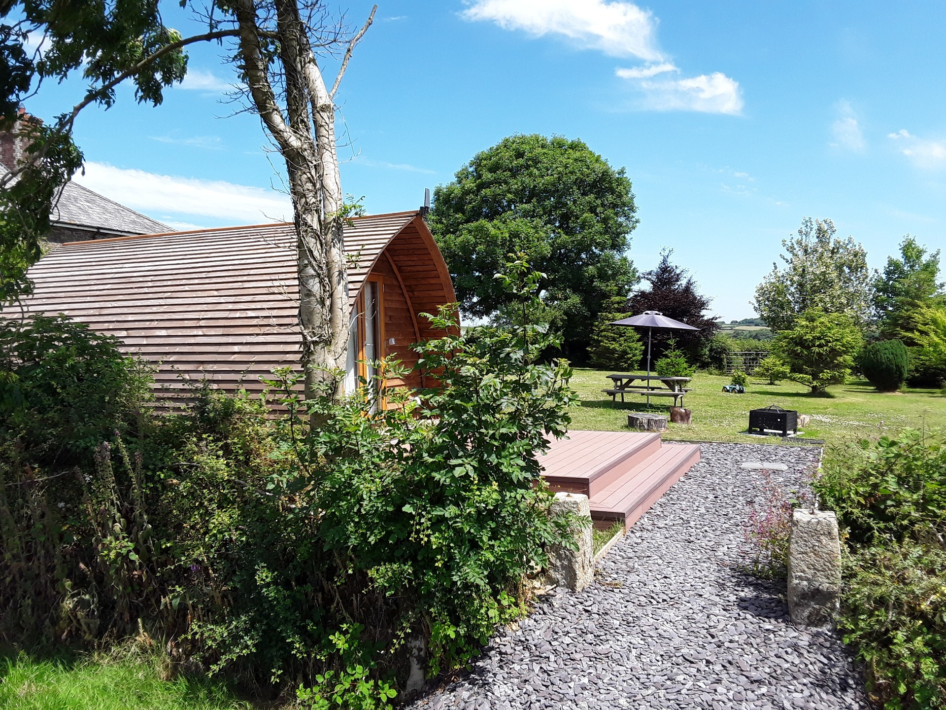 Glamping Holiday Accommodation - Glamping Cabins
